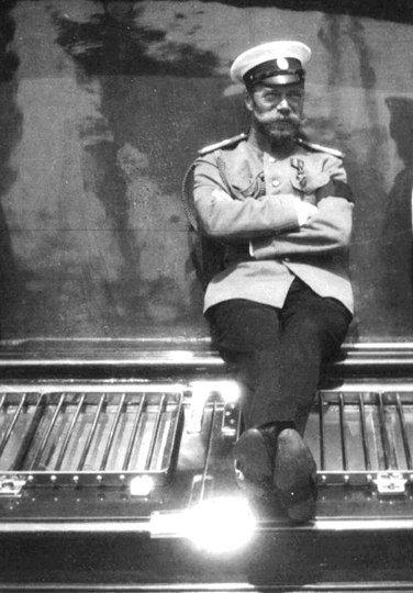 Tsar Nicholas II smiling