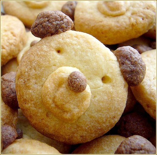 biscuits oursons