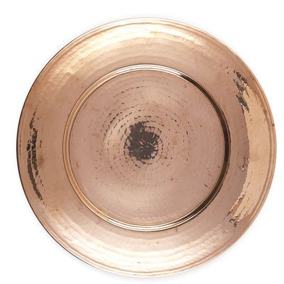 Features: -Hand-hammered by skilled artisans from the Mediterranean . -Solid versatile copper. -Recyclable. Color: -Copper. Pattern: -Solid. Generic Specifications: -Handwash only. -Do not micr