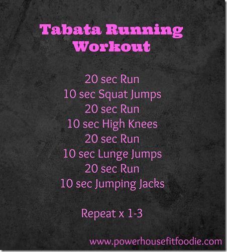 Tabata Running Workout