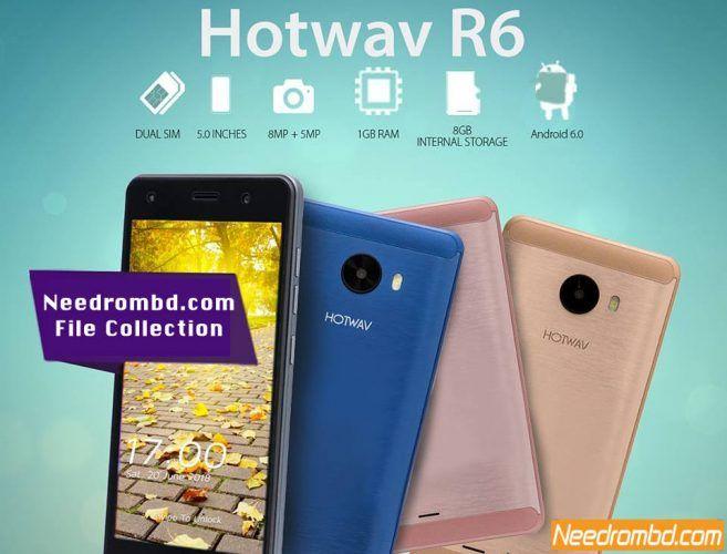 Hotwav Venus R6 100% Tested Flash file Free | Smartphone