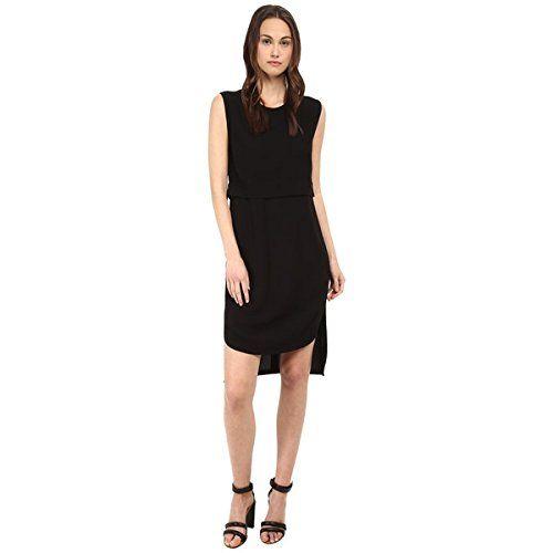 (ヘルムート ラング) HELMUT LANG レディース ドレス ワンピース Blaze Layered Dress 並行輸入品  新品【取り寄せ商品のため、お届けまでに2週間前後かかります。】 カラー:Black 商品番号:ol-8508098-3