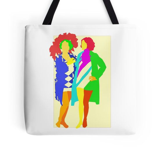 #Delauney inspired  illustration #tote #bag