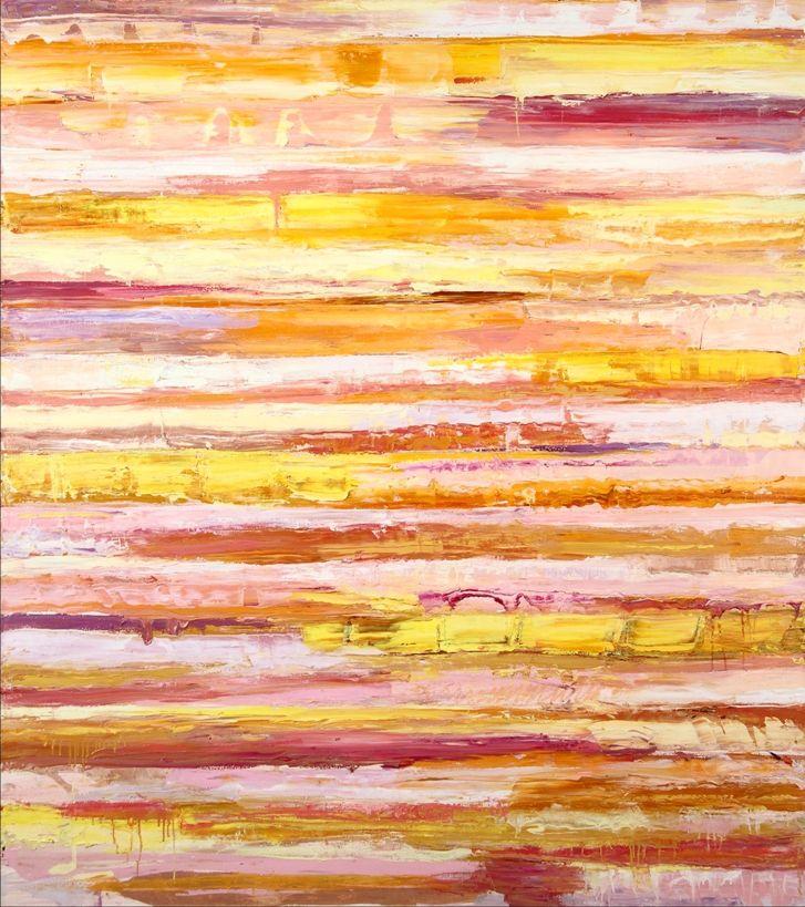 Monroe Hodder | The Sea in Sardinia | Oil on Canvas | 72 x 64 inches | £14,000
