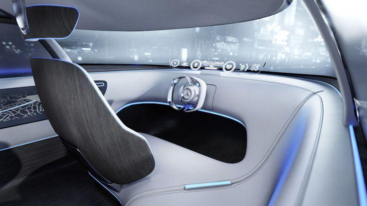 메르세데스 - 벤츠 - 발표 -자가 운전 비전 도쿄 개념-5