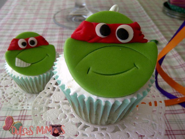 cupcakes tortuga ninja