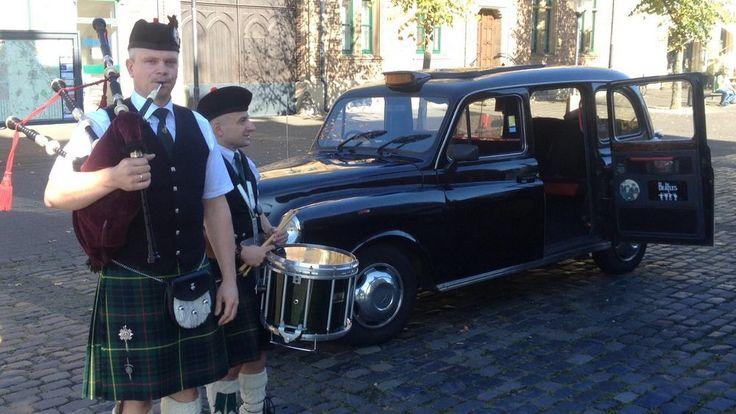 Hochzeitsfahrt mit Chauffeur im orig. London Taxi, Düsseldorf - Kölner Raum