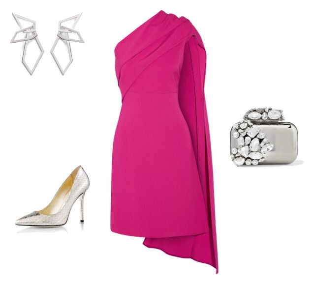 """Drama"" by teriaevaap on Polyvore featuring мода, Narciso Rodriguez, Emy Mack, Jimmy Choo и W. Britt"