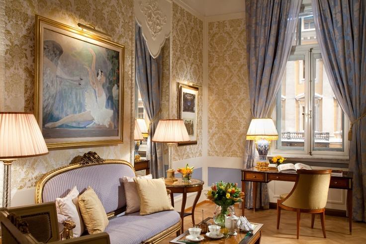 The Mariinsky Suite. Grand Hotel Europe.