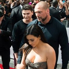 FILE Kim Kardashian said to no longer be working with bodyguard (260730)