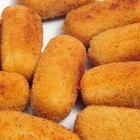 Croquete de Frango com Azeitona, seja frito ou assado é impossível resistir a um salgadinho de frango! São deliciosos e muito fáceis de fazer!