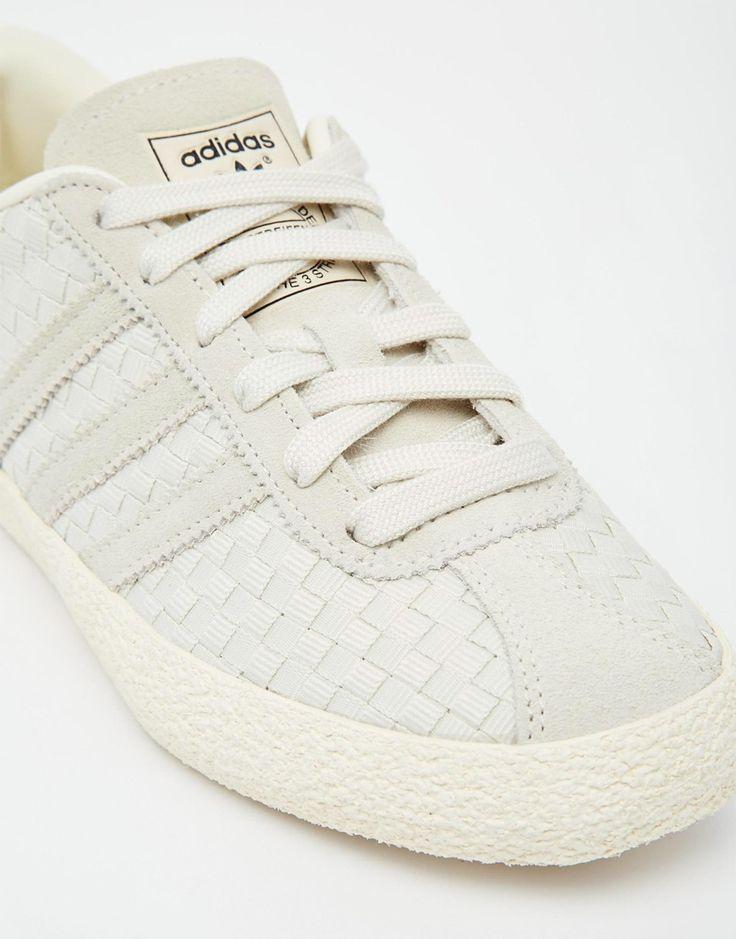 adidas originals - gazelle - baskets - beige