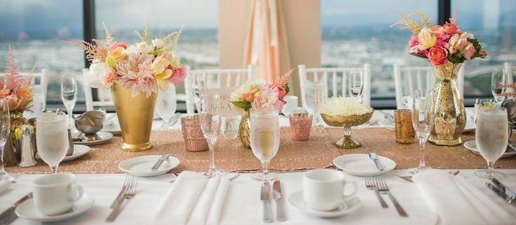 Rose Gold Inspirated Reception - Wedding Planner, Brisbane, Gold Coast, Olive Rose Weddings & Events