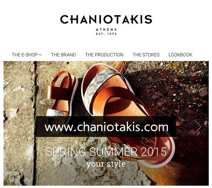 Σας καλωσορίζουμε στο νέο online shop! Welcome to out new online shop!  #online #shoes #eshop #new #shop #chaniotakis