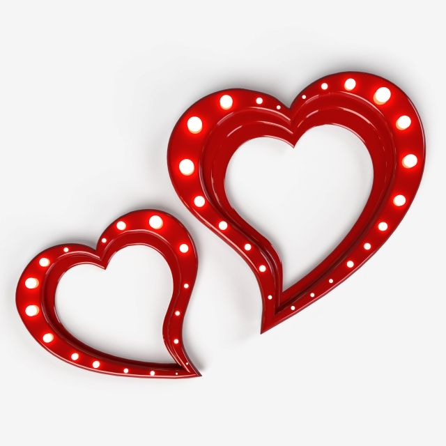 Two Bright Luminous Hearts Holiday Illustration On A Transparent Background Object Lover Element Png Transparent Clipart Image And Psd File For Free Download In 2021 Holiday Illustrations Transparent Background Heart Background