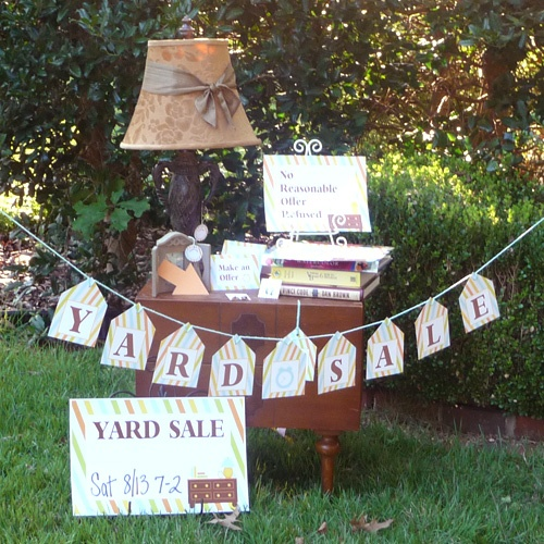 16 best GARAGE \ YARD SALE HELPERS images on Pinterest Free - free for sale signs for cars
