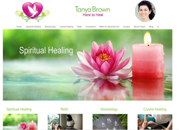 Website Design Gallery - Tanya Brown