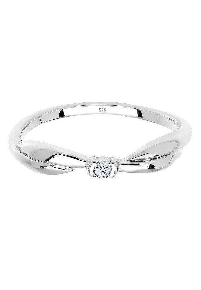 Diamore Ring »Schleife Verlobung Diamant 0.03 ct. 925 Silber« Jetzt bestellen unter: https://mode.ladendirekt.de/damen/schmuck/ringe/silberringe/?uid=f3ef6a8c-4a1c-5a8d-a631-a5d5cf42825f&utm_source=pinterest&utm_medium=pin&utm_campaign=boards #schmuck #ringe #keine #silberringe Bild Quelle: baur.de