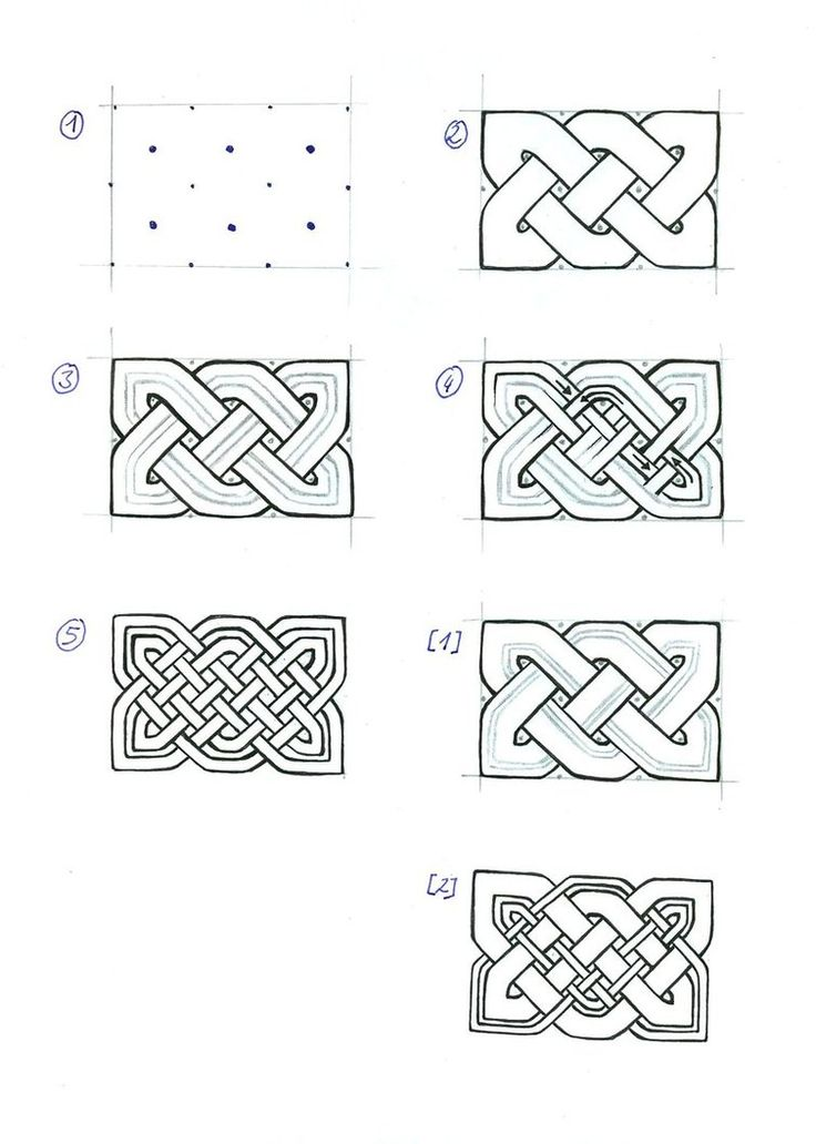 Celtic Knots - advanced by ~SecondGoddess on deviantART