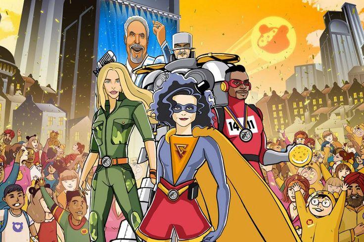 Children in Need: Tom Jones, Helena Bonham Carter and more become superheroes - Mirror Online