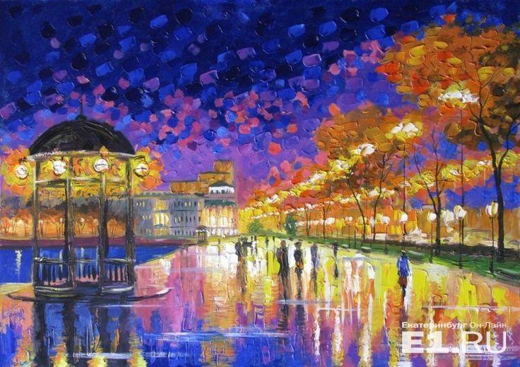 После публикации на E1.RU у художника-беженца из Донбасса раскупили все картины о Екатеринбурге