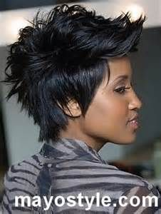 short-mohawk-hairstyles-for-black-women-2014 - MAYO STYLE