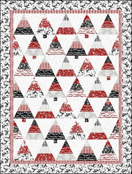 **Lots of table runner patterns*Quilt Inspiration: Free pattern day: Christmas 2015 (part