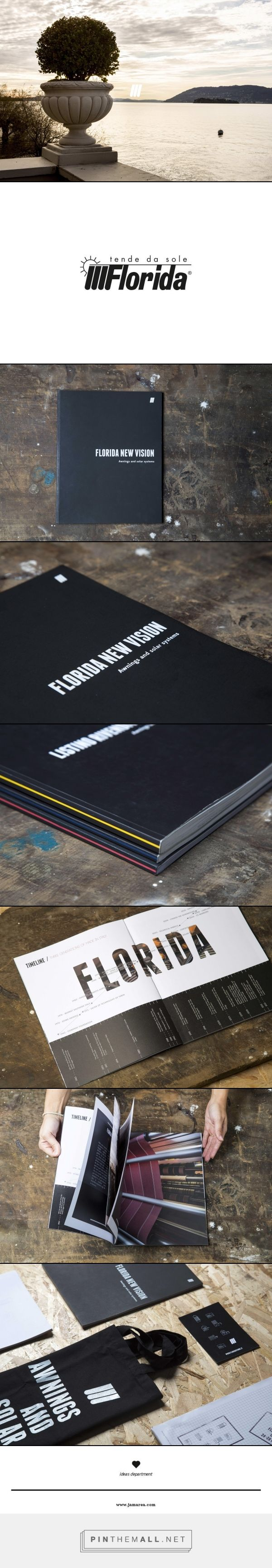 Florida Tende - Restyling, Graphic Design, Ideas, Catalogue, Brand Development, Trough the line | Jam Area