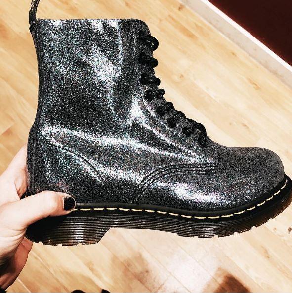 Dr martens 1460 pascal sparkle in 2019 | shoes | Dr ...