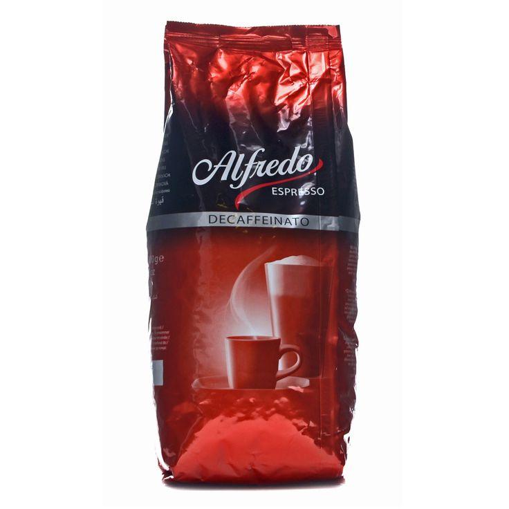 Alfredo Espresso Decaffeinato 1Kg ganze Bohne