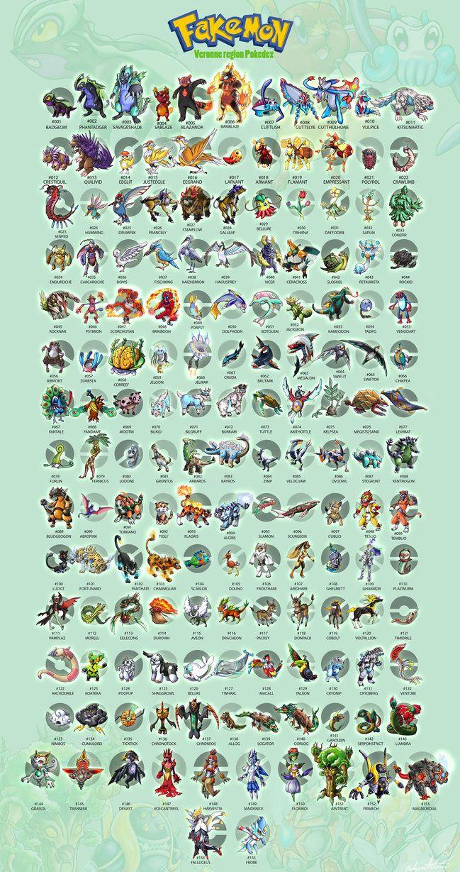 Pokemon cyan pokedex