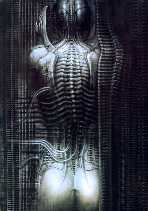 A piece by H R Giger