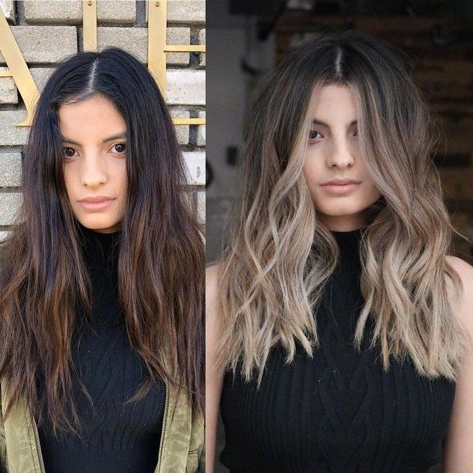 10 medium to long hair styles ombre balayage hairstyles ideas for women 2019 50 » Eknom-Jo.com