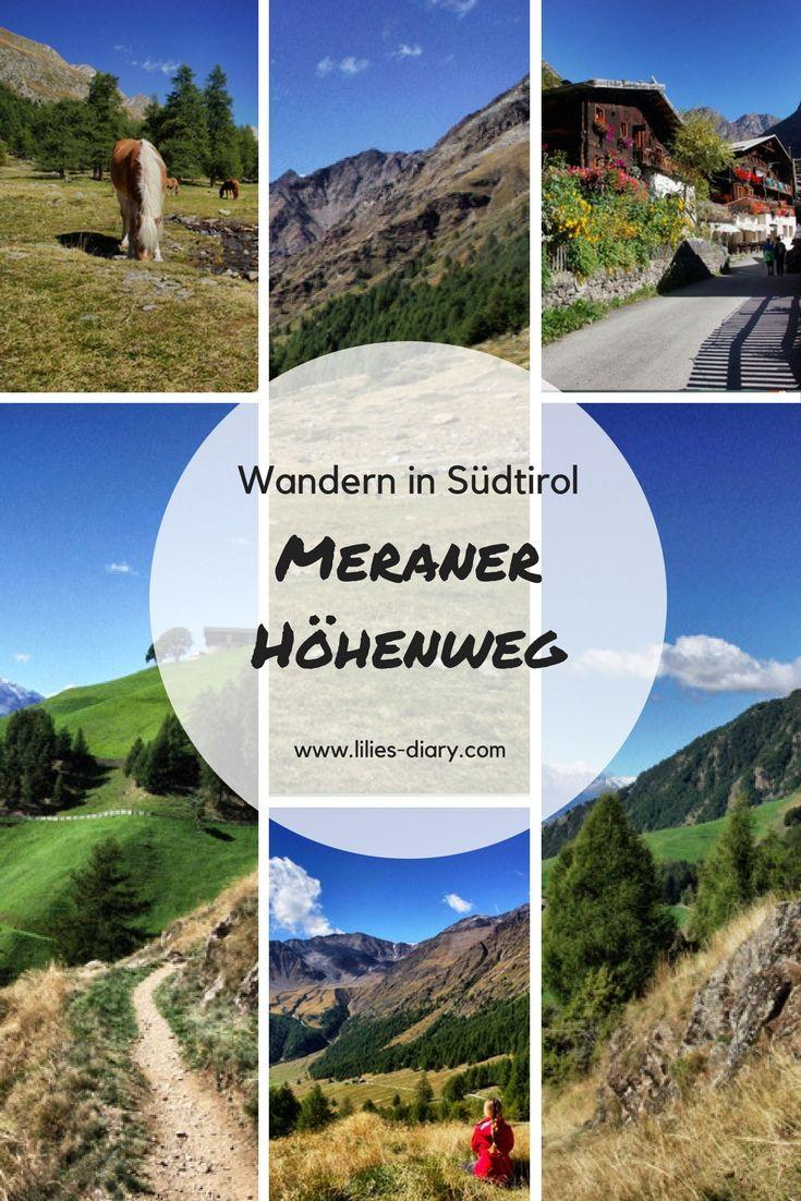 Wandern in Südtirol? Wie wäre es mit dem Meraner Höhenweg. #südtirol #meranerhöhenweg #wandern #outdoor