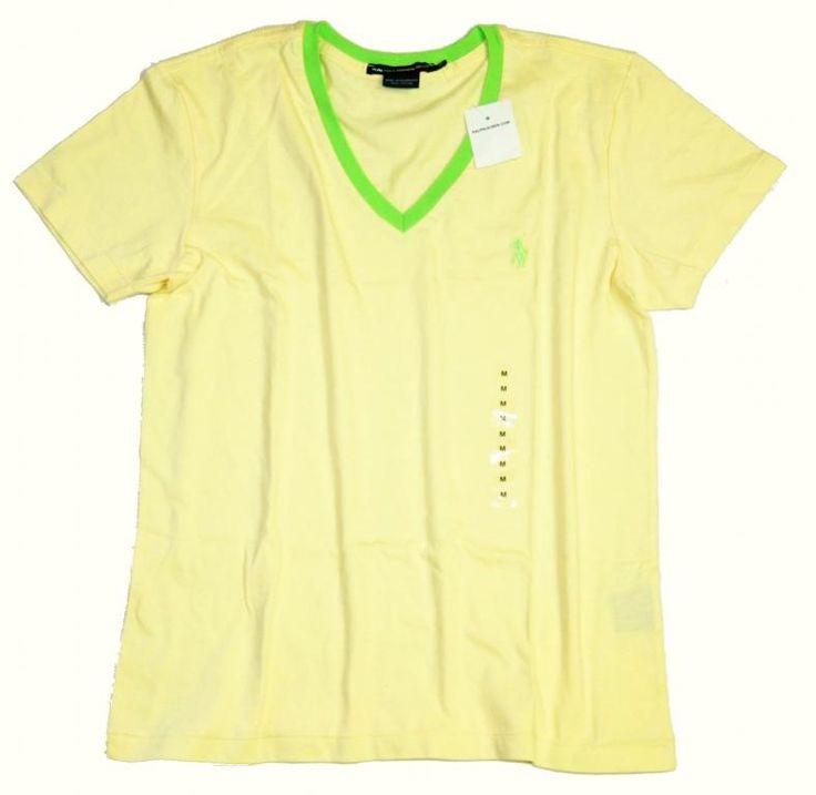 RALPH LAUREN bluzka koszulka T-shirt  żółta M NOWA