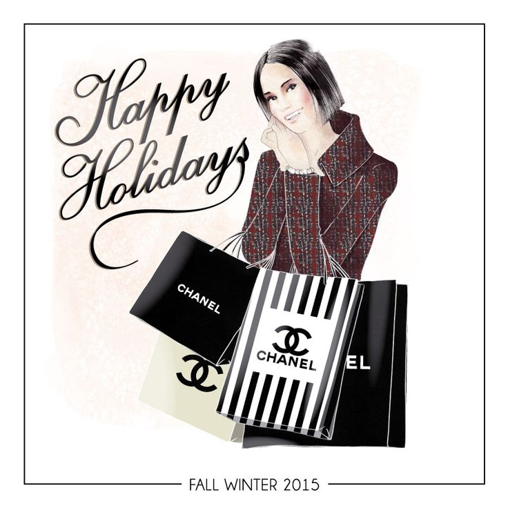 Happy Holidays illustration Made by Danilo De Donno (Stylographic)  www.danilodedonno.com © ALL RIGHT RESERVED #fashionillustration #fashionillustrator #fashion #illustration #merrychristmas #happyholidays #design #style #vogue #glamour #drawing #painting #fashiondesign #happynewyear #shopping #wallart #decor #moda #chanel #art #digitalart #woman