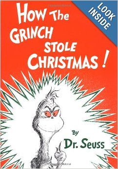 Christmas Party Ideas: Picture Books to read aloud.....How the Grinch Stole Christmas (and there's a cartoon movie I can show too!)