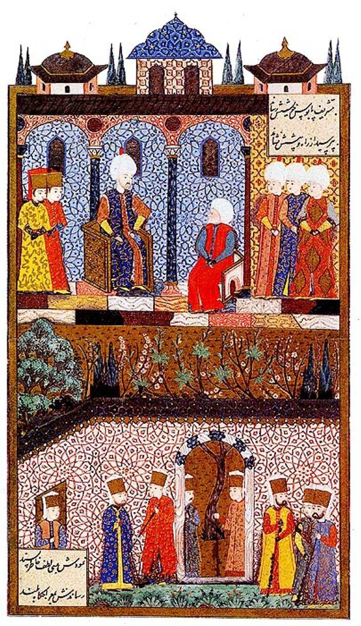 Osmanlı Tarihi: Barbaros Hayreddin Paşa, Sultan Süleyman'ın huzurunda