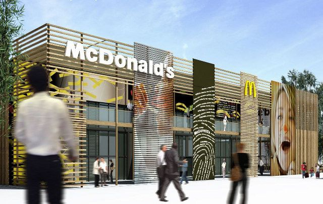 Worlds Largest Mcdonalds Built for Olympics