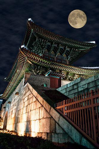 Moon over Dongdaemun #korea