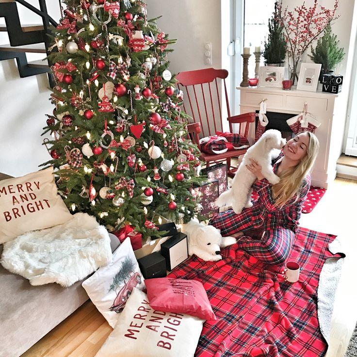 Merry Christmas. Red christmas.