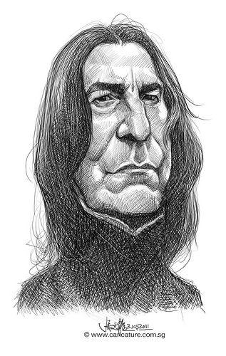 Severus Snape, this sirius-ly *pun intended* looks like Alan Rickman!