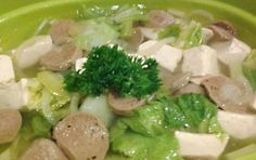 Resep Membuat Sayur Sawi Putih Tahu Kuah http://dapursaja.blogspot.com/2015/05/resep-membuat-sayur-sawi-putih-tahu-kuah.html