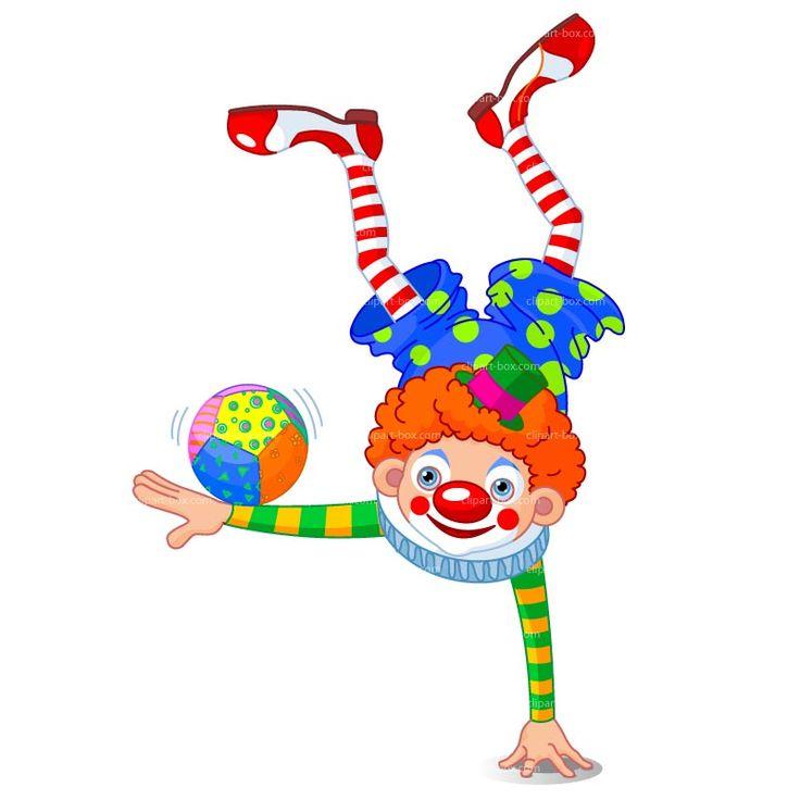clipart acrobat clown royalty free vector design