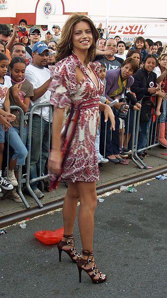 Adriana Lima wears Gucci, she's Beautiful