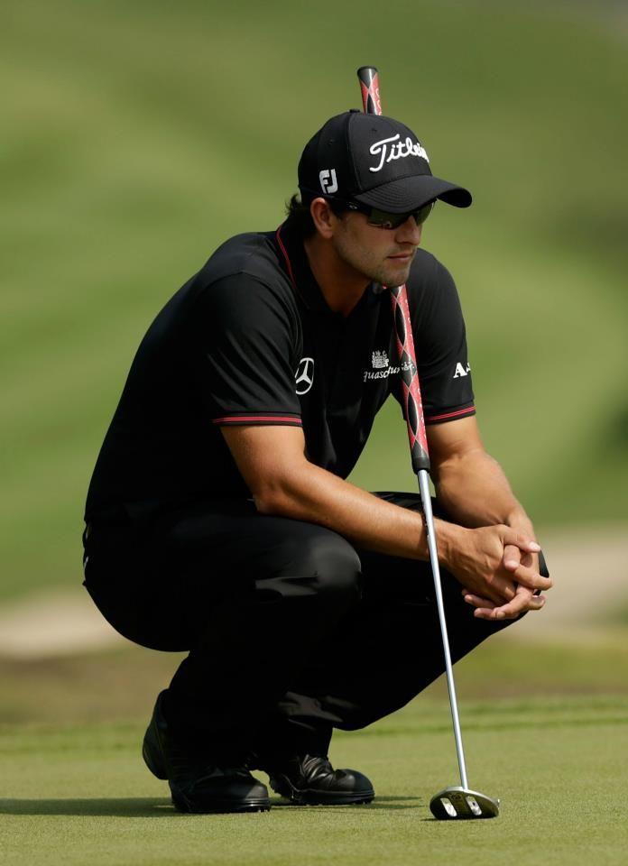 adam scott. reason enough to enjoy #golf........You mean reason enough to watch golf!!!!!