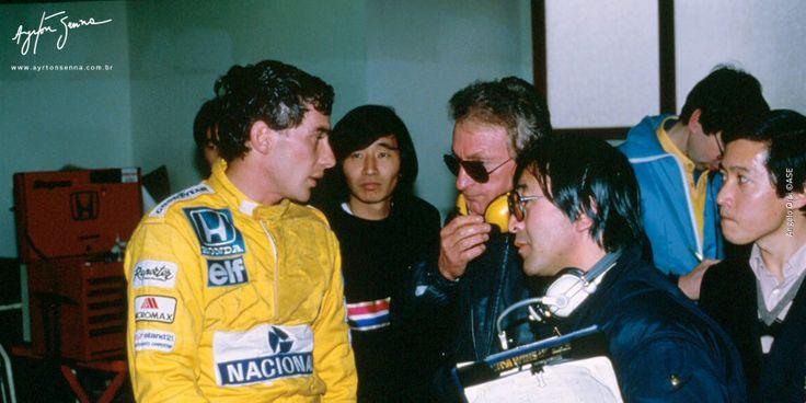 Grande Prêmio do Japão – 1987   Ayrton Senna