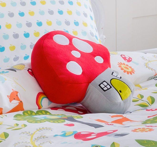 Kooky Enchanted Mushroom Cushion