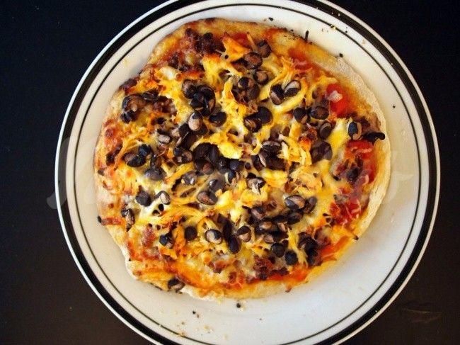Пицца в стиле начос