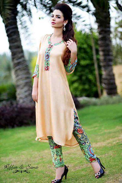 casual pakistani dresses 2015